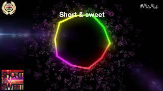 Short and Sweet Sauti Sol Full Lyrics