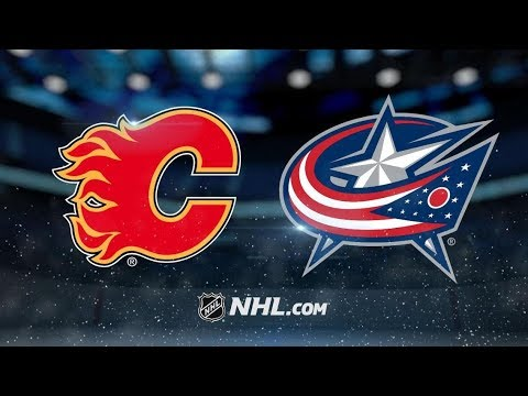 Calgary Flames vs Columbus Blue Jackets | Dec.04, 2018 | Game Highlights | NHL 2018/19 | Обзор матча