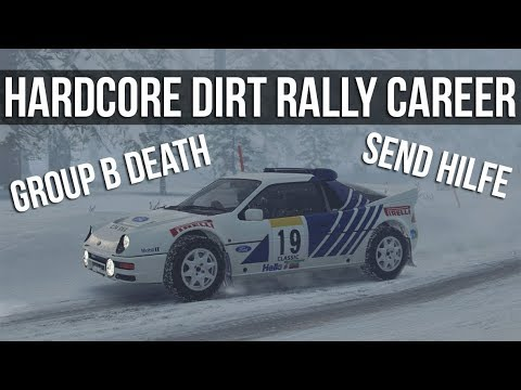 DiRT Rally - LIVE Hardcore Career Mode: Group B Championship + Choosing Our NEW Car