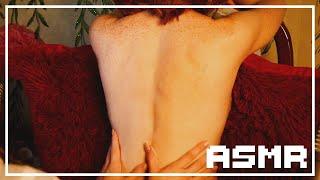 ASMR Back Massage BINAURAL Patting Scratching, and Petting (NO TALKING)