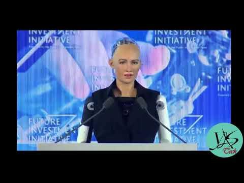 Sophia The World Most Advanced Robot Citizen In Saudi Arabia