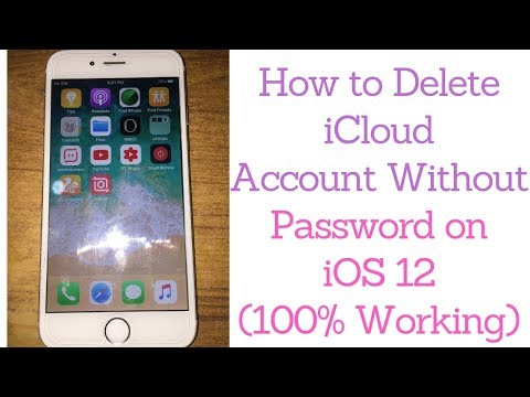 Delete iCloud Account Without Password on iOS 12 (2019) - YouTube