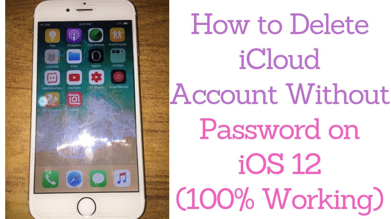 Delete iCloud Account Without Password on iOS 12 (2019)