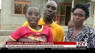 OKUYITIRA WAGGULU EBIGEZO: Waliwo abalabudde ku kazito akateekebwa ku baana