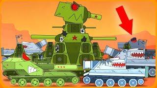 Штурмтигры проти КВ-44 Мультики про танки