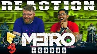 Metro Exodus Announce Gameplay Trailer REACTION!! E3 2017