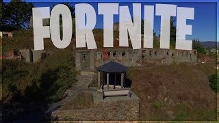 GAME TO FORTNITE IN AN ABANDONADOED FANTASMA PEOPLE - FORTNITE REAL LIFE KOLASH