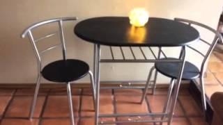 Krasavic 3 Piece Dining Set