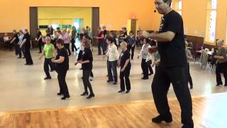 SAMBALERO Line Dance @ 2013 Arnprior Ontario CANADA Workshop