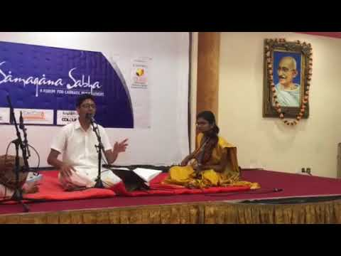 Sanjay Sriram Carnatic Music Indian Association Sharjah 3-10-17