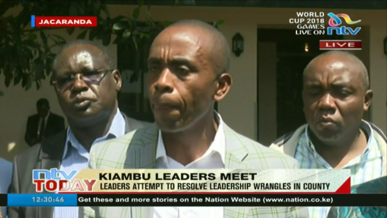 Governor Waititu, DG Nyoro & other Kiambu leaders agree to work together