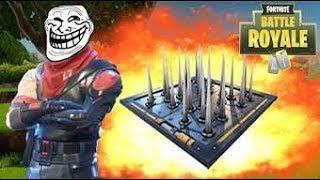 Fortnite the most epic&hilarious trap kill ever /فورت نايت اقوا قتلة تراب ف التاريخ مع ضحكة تاريخية