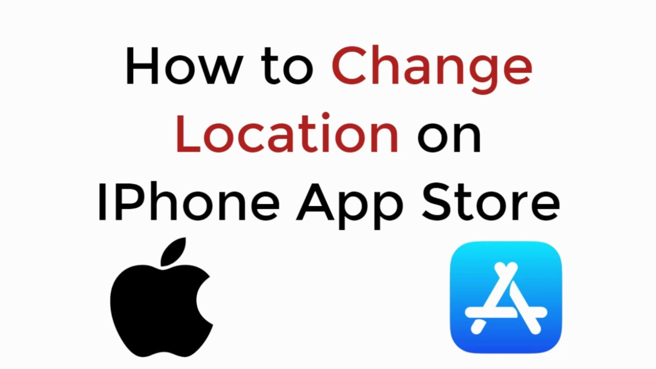 How to Change Location/Country on IPhone App Store Without Credit Card  UPDATED