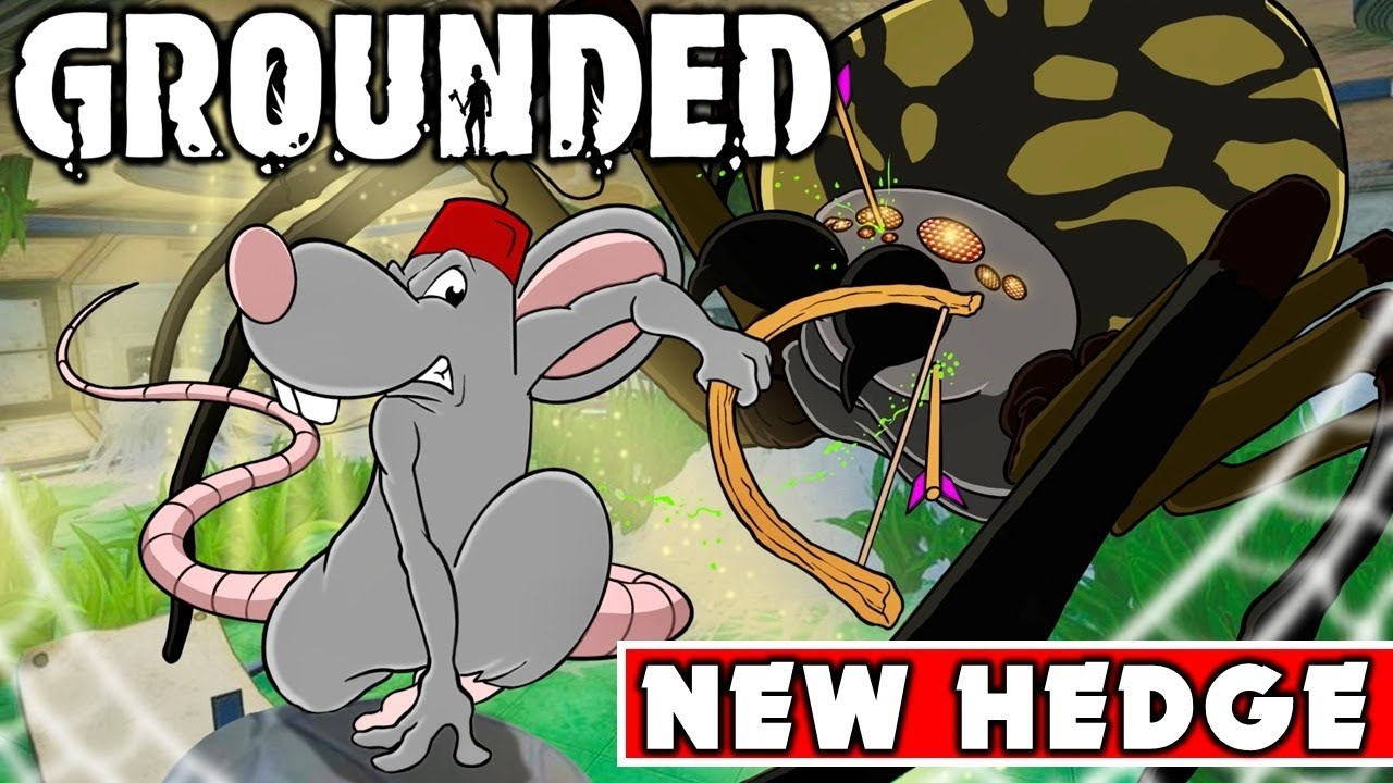 GROUNDED NEW UPDATE ISSUES! Hedge Changes! Jungle Chip Run! - Live!