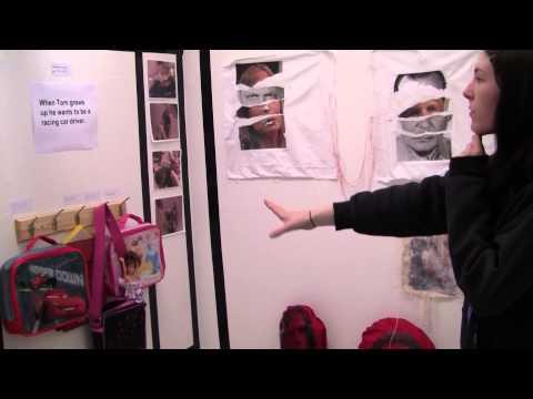 Samantha Roberts on studying fine art at Glyndwr University