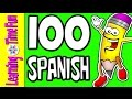 SPANISH Numbers 1 100 Learn Spanish Spanish For Kids Numbers In Spanish Spanish Numbers mp3