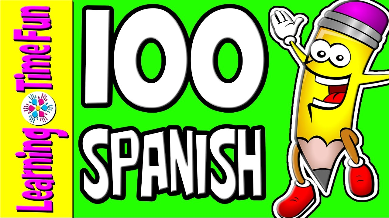 SPANISH Numbers 1-100 | Learn Spanish | Spanish for Kids | Numbers ...