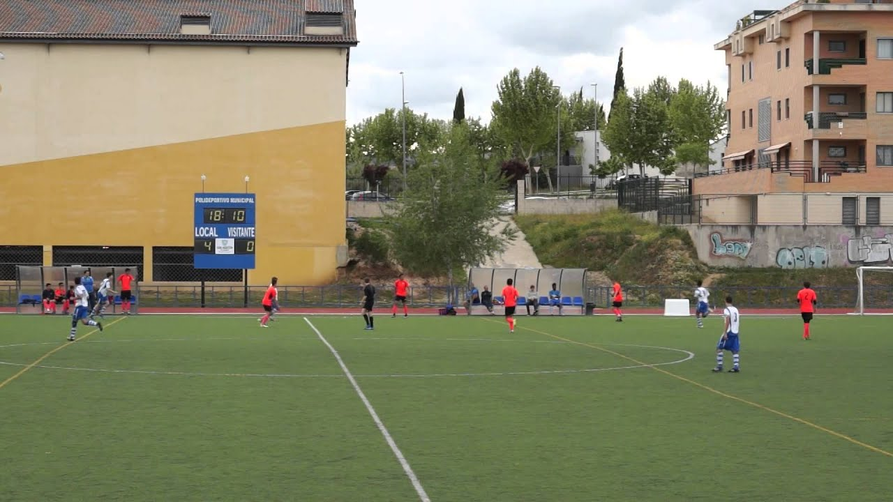 """Download C.F. SAN AGUSTIN DE GUADALIX 6-0 A.D. SPORTING HORTALEZA """"C""""  2ª Parte 25/04/2015 Futbol"""