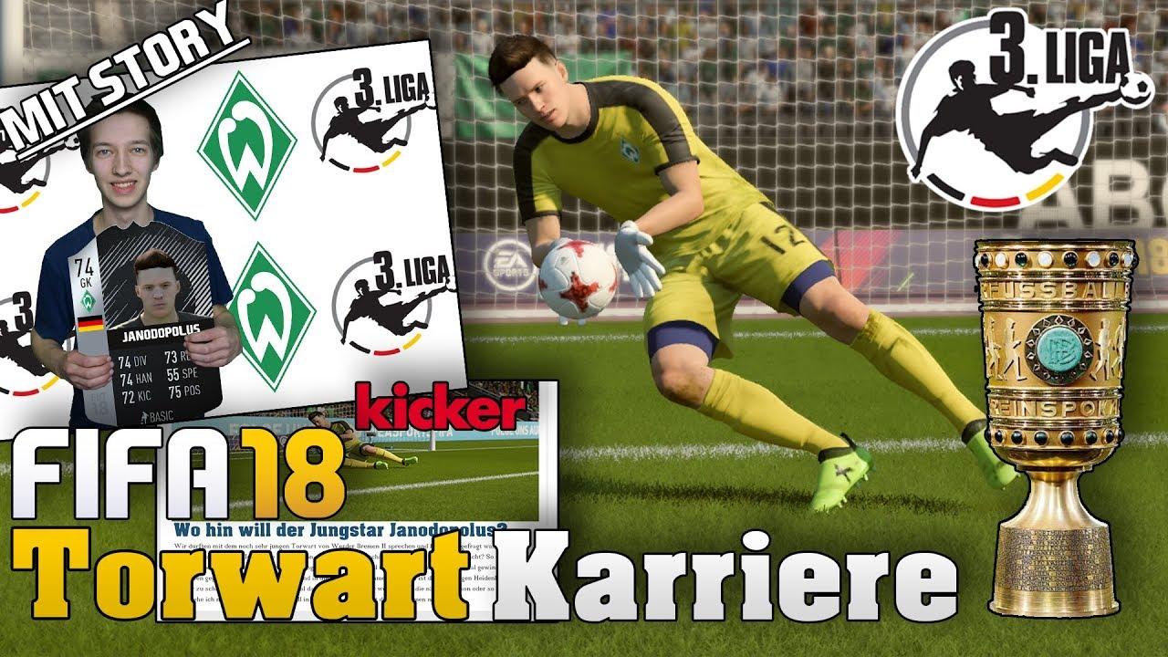 Torwart Talente Fifa 18