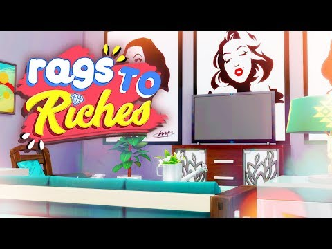 DECORATING OUR HOME ✨ // The Sims 4: Rags To Riches #28
