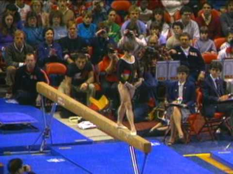 Mary Lou Retton - Balance Beam - 1984 McDonald