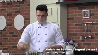 Receitas Bom Sabor 12/05/2014 - Bala e geléia de banana