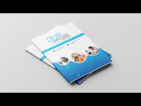 Professional Business Brochure Design - Photoshop Tutorial thumbnail