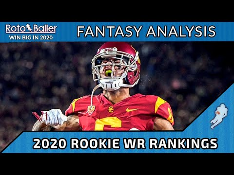 Rookie Wide Receiver Dynasty Rankings