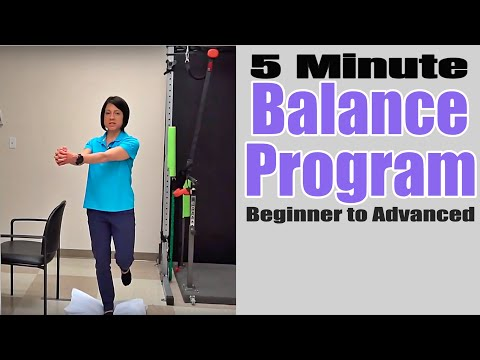 Balance Exercise for Seniors