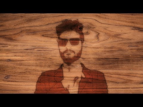 How to Create Wood Burning Portrait in Gimp