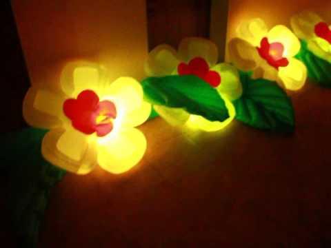 Пневмоцветы,  #Пневмоцветы, распукающиеся цветы. Модель  Яблоневый цвет.  Светящиеся цветы.