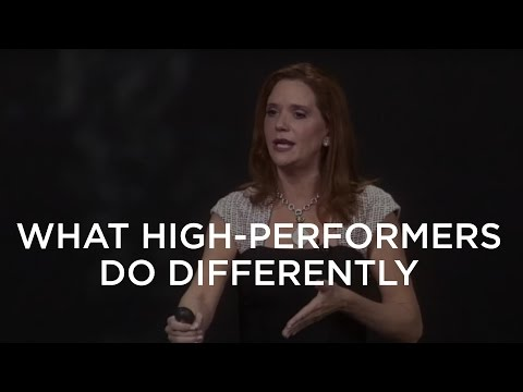 What High-Performers Do Differently