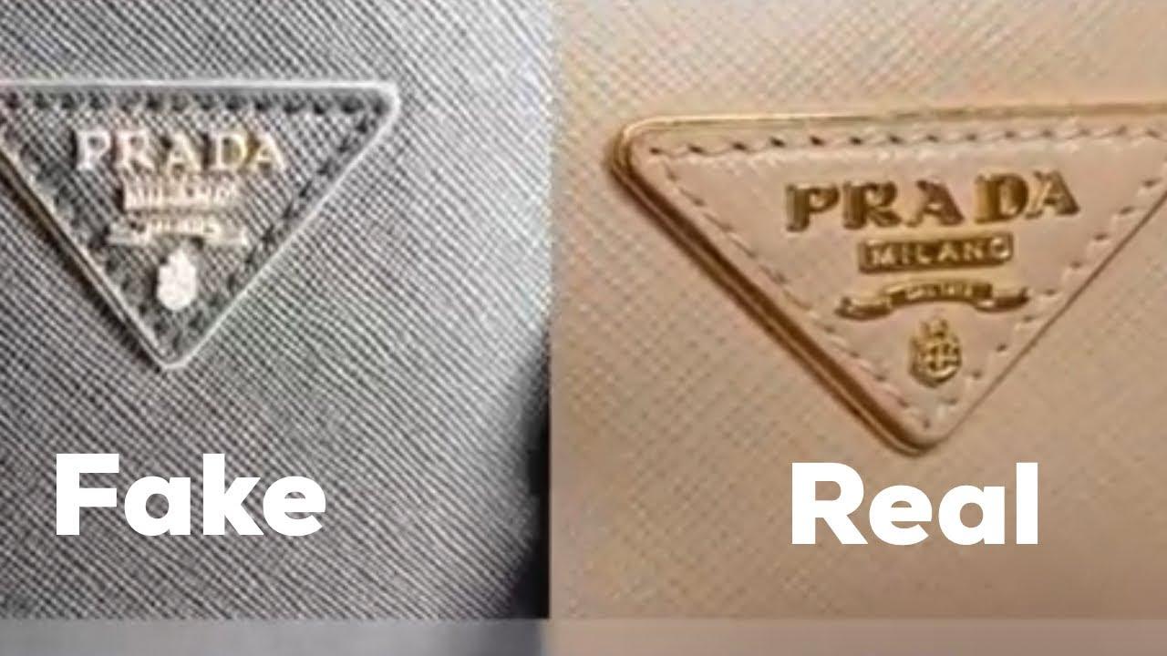 2988205a1ec86f How to spot fake prada bag (authenticate ) - YouTube