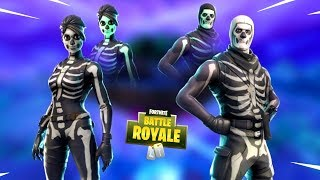 The Skull Trooper Skin.... NEW SKINS in Fortnite Item Shop (Daily Reset)