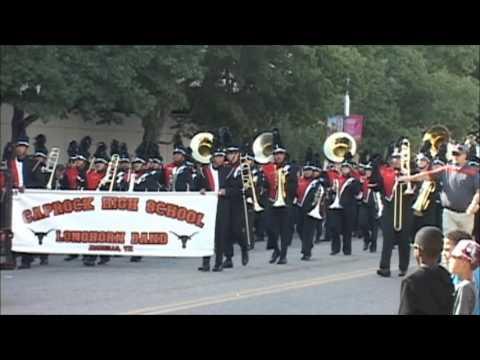 Palo Duro High School Band Tri State Fair Parade 2016