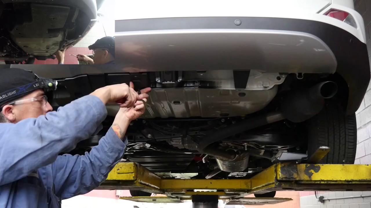 2017 Toyota Rav4 Ecohitch Trailer Hitch Installation Youtube