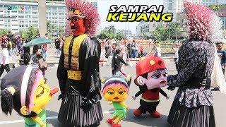 Badut Mampang Lucu VS Ondel-Ondel Terbaru, Adu Joget sampe Kejang, Gokil 😀
