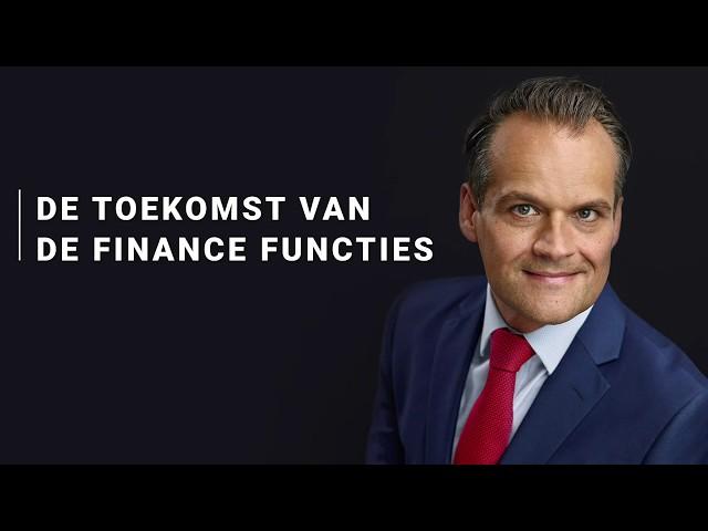 Jan-Kees de Jager - Toekomst van de Finance Functie