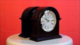 Seiko Addison/ryan Colonial Wooden Alarm Clock