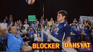 Volly ball | block terbaik didunia | the best blocker volly ball