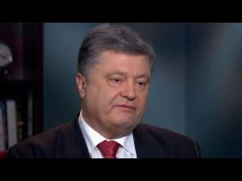 Petro Poroshenko on Vladimir Putin: 'I don't trust him'