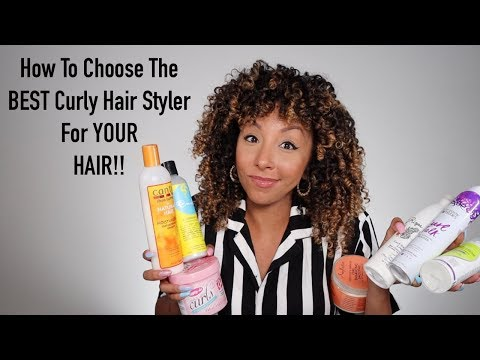 How To Choose The BEST Curly Hair Styler For YOUR  Hair! | BiancaReneeToday