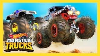 Hot Wheels - MONSTER TRUCKS (Official Music Video) | Hot Wheels