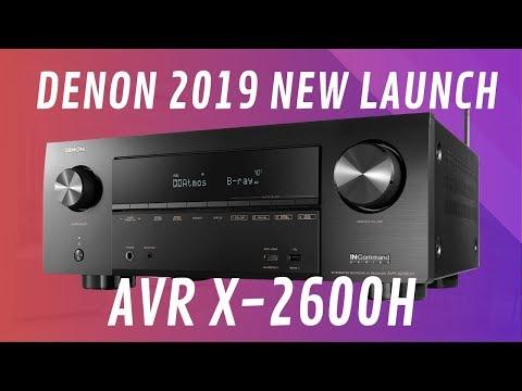 Denon AVR-X2600H 4K Ultra HD AV Receiver - Quick Look India