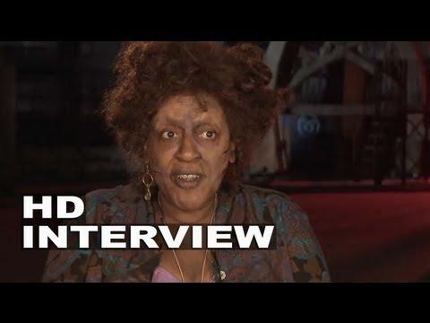 "The Mortal Instruments: City of Bones: C.C.H. Pounder ""Dorothea"" On Set Interview"