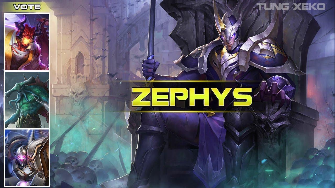 [2] Hướng dẫn chơi Zephys - Lãnh Chúa Bất Tử - Liên Quân Mobile - Realm of Valor