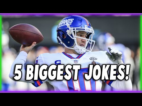 THE 5 BIGGEST JOKES IN FOOTBALL! (feat. FivePoints Vids)