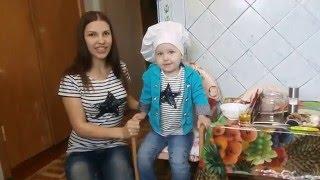 Курица на банке с картошкой - Готовим с детьми!