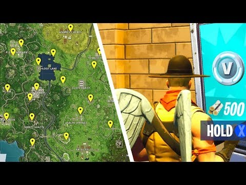 How To Find ALL Vending Machines In Fortnite Battle Royale (Vending Machine Spawn Location GUIDE)