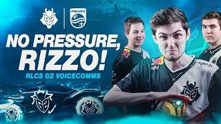 No Pressure, Rizzo! | G2 RLCS9 Voicecomms